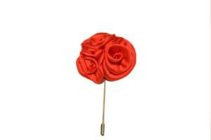 Sterling Rose Lapel Pin
