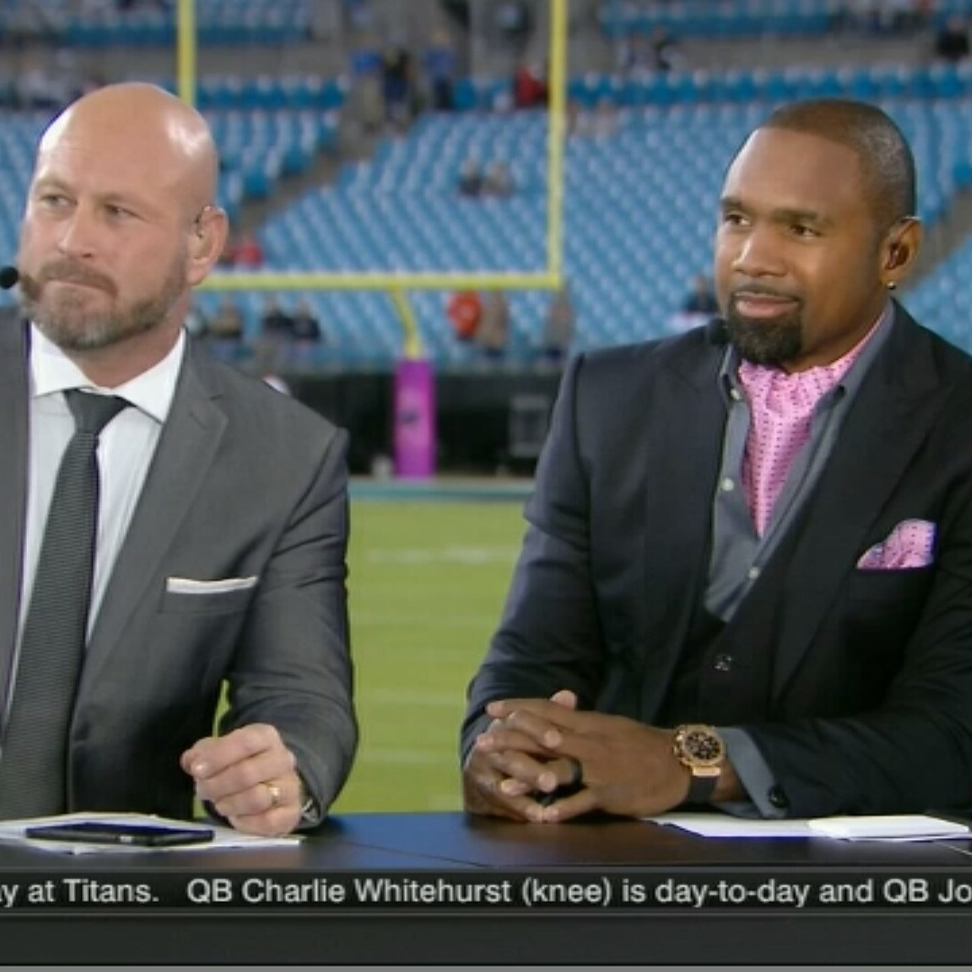 Blog Post: Charles Woodson Brings Sterling Ascots to ESPN